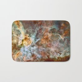 Carina Nebula, Star Birth in the Extreme - High Quality Image Bath Mat