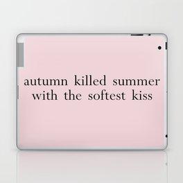 autumn killed summer Laptop & iPad Skin
