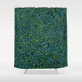 CoriandoliTech 12 Shower Curtain