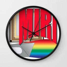 Mid-Infrared Instrument Logo Wall Clock