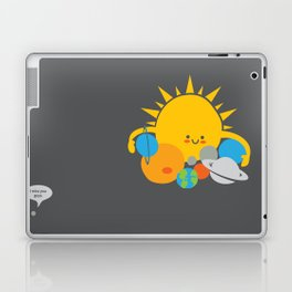 Hugs are for Planets Only Laptop & iPad Skin
