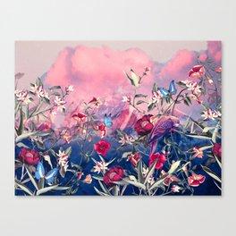 Scarlet Haze Canvas Print