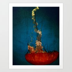 Under The Mystic Sea Art Print
