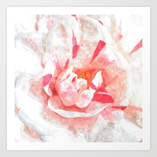 Winter Pink Art Print