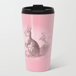 Bunny Rabbit {soft pink} Travel Mug