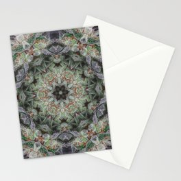 Crystal Wheel Stationery Cards