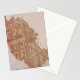 in motion Stationery Cards