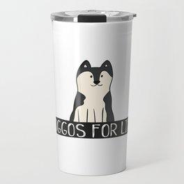 Doggos For Life Travel Mug