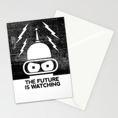 The Future Is Watching Stationery Cards