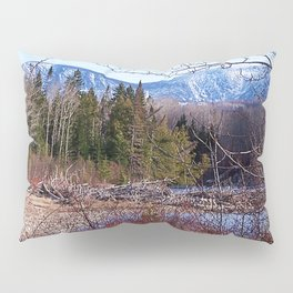 The Way to the Mountain Pillow Sham