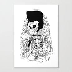 Dead Famous - Elvis Canvas Print