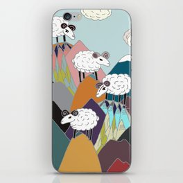 Clouds and Sheep iPhone Skin