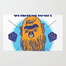Hipster Chewie Rug