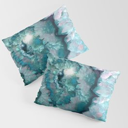 Teal Agate Pillow Sham