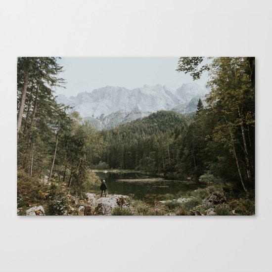 Mountain lake vibes II - Landscape Photography Canvas Print