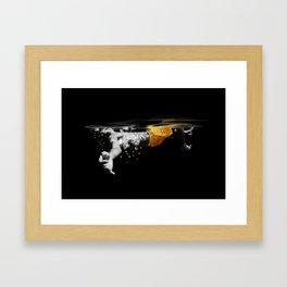 Black Water II Framed Art Print