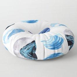 Sea view Floor Pillow