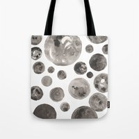 planets Tote Bags featuring Planets by Dreamy Me
