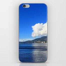 Blue vs. White iPhone Skin