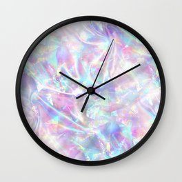 Iridescent Texture Wall Clock