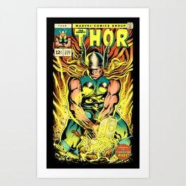 Unleash the Lightning! Art Print