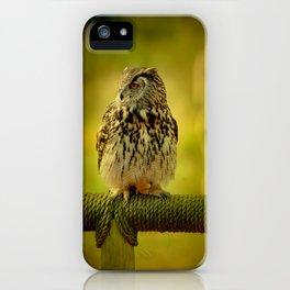Keeping one eye open iPhone Case