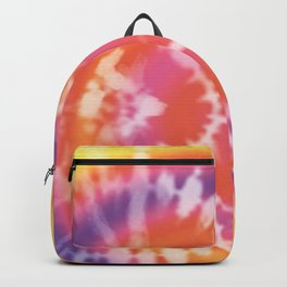 Tie-dye pattern Backpack