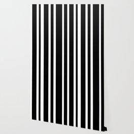 Black Stripe Pattern Home Decor   Black and White   Minimalism Wallpaper