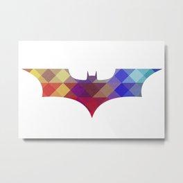 BAT MAN Retro -  Superhero / Comic Metal Print
