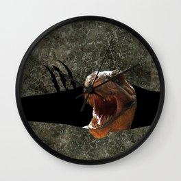 Trex Dinosaur Strike Back Wall Clock