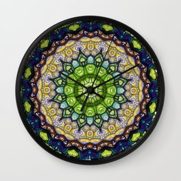 Lucky Me! Through My Kaleidoscope View #7 Wall Clock