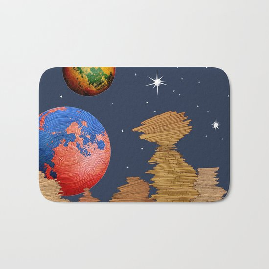 Space Bath Mat