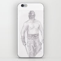 bane iPhone & iPod Skins featuring Bane by jamestomgray