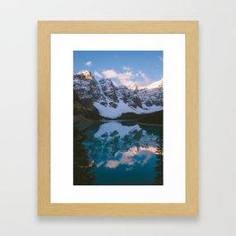 Sunrise Paddle Framed Art Print