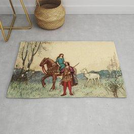 Medieval Romance Rug