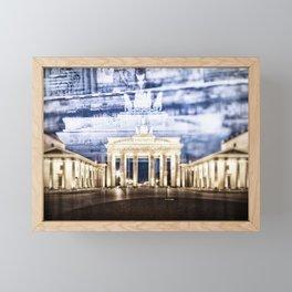 BERLIN Brandenburg Gate | In Detail Framed Mini Art Print