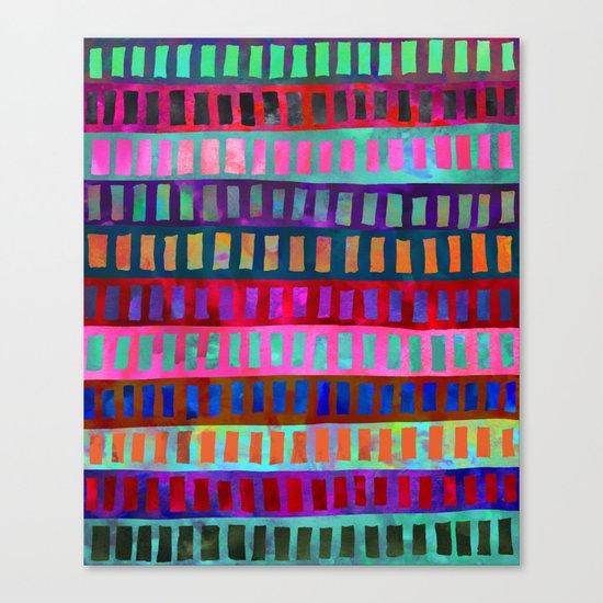 PATTERN {Geometric 001} Canvas Print