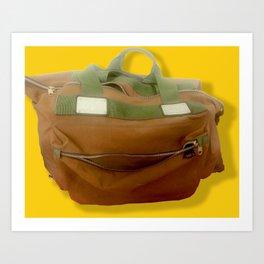Happy Bag Art Print
