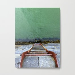 ladder to the sea Metal Print
