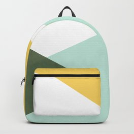 Geometrics - citrus & concrete Backpack