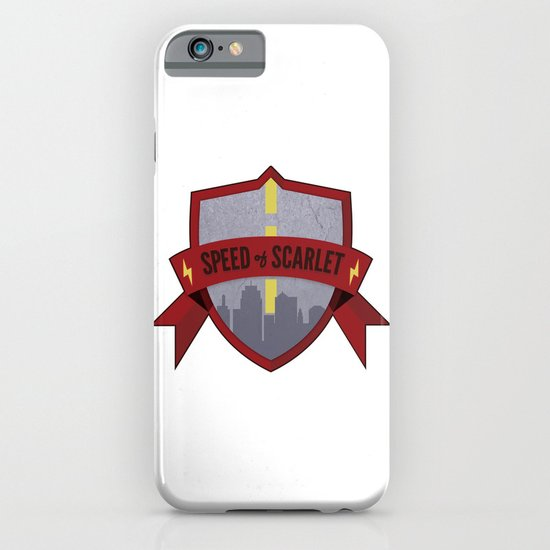 Speed of Scarlet iPhone & iPod Case