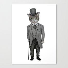 Mr.cat Canvas Print