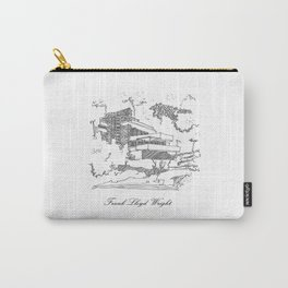 Frank Lloyd Wright Carry-All Pouch