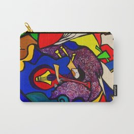In Paradise ( ORIGINAL SOLD) #society6  #decor  #buyart Carry-All Pouch
