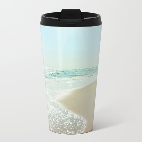 Good Morning Beautiful Sea Metal Travel Mug