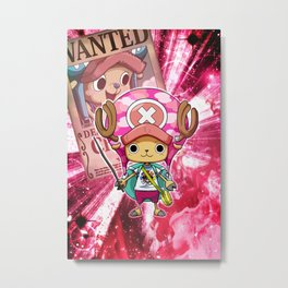 Tony tony Chopper - One Piece Metal Print