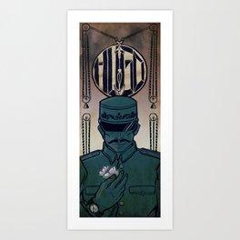 Hugo - The Station Inspector Art Print