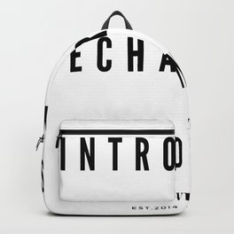 Introverts Recharging Zone Backpack