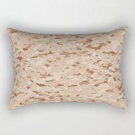 Camouflage: Arid Desert IV Rectangular Pillow