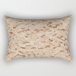 Camouflage: Arid Desert IV Rectangular Pillow